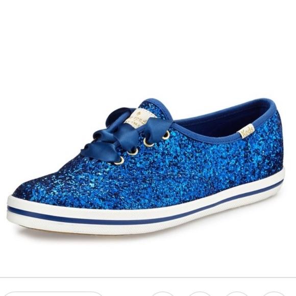 Keds Shoes - Kate Spade Keds Royal Blue Glitter